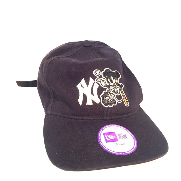 Disney Other - New Era NY Yankees MLB Mickey Mouse Youth Hat 16ea9eec3a5